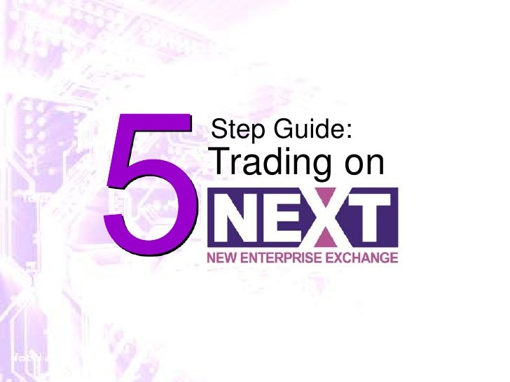 5<br />Step Guide:<br />Trading on<br />