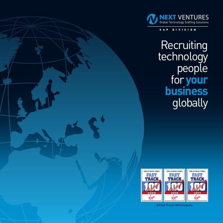 S A P  D I V I S I O N Recruitingtechnology     people   for your  business    globallyA Fast Track 100 Company