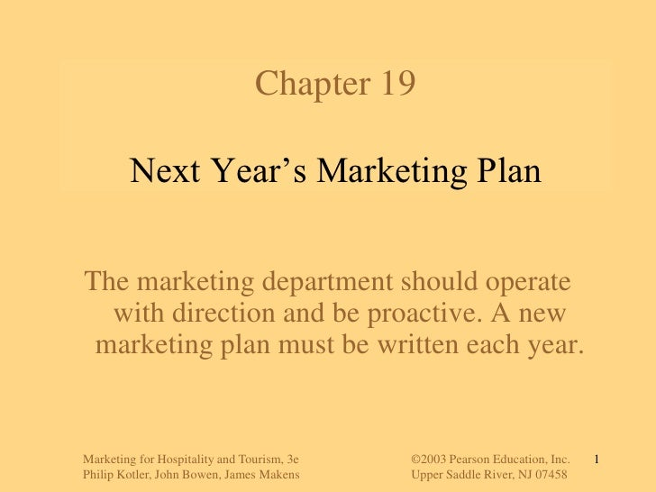Marketing for Hospitality and Tourism, 3e©2003 Pearson Education, Inc.<br />Philip Kotler, John Bowen, James MakensUpp...