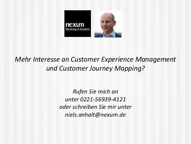 Nutzer, Silos, KPIs und Momente der Wahrheit - Customer Journey Mapping im Praxiseinsatz beim Online-Fotoservice Pixum (IA...