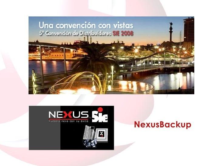 NexusBackup