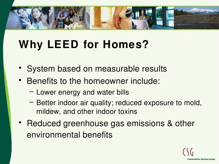 Nexus leed homes presentation for Leed benefits