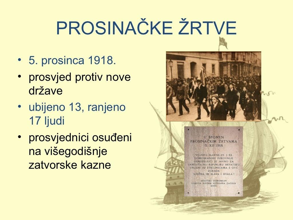 Nezadovoljstvo Hrvata U Kraljevstvu Shs