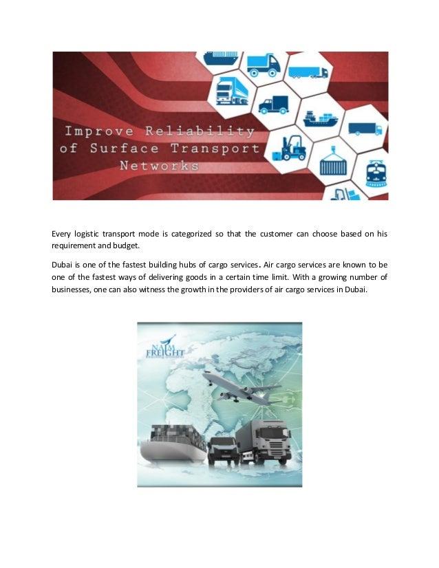 Logistics Companies in Dubai, UAE