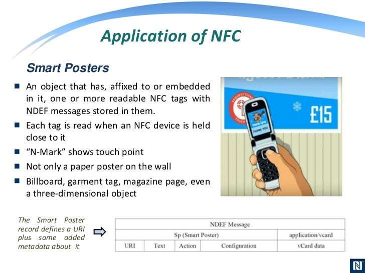 nfc technical presentation application of nfc 16
