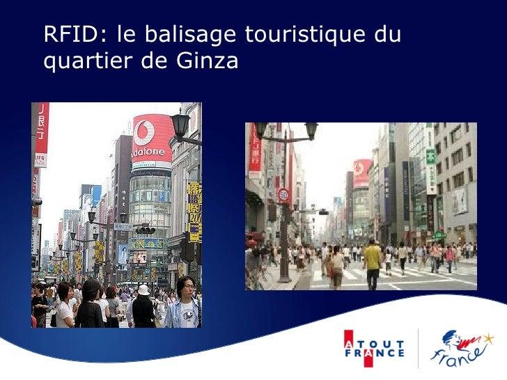 RFID: le balisage touristique du quartier de Ginza