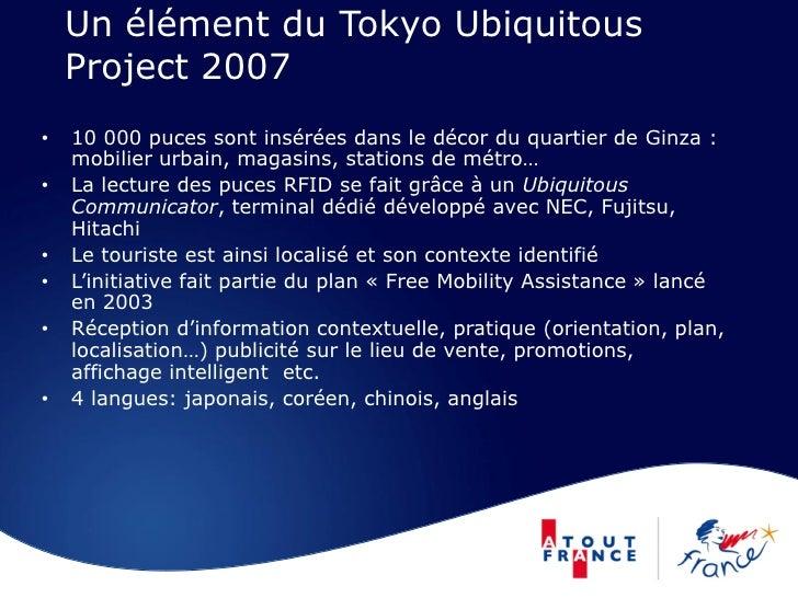 Un élément du Tokyo Ubiquitous     Project 2007 •   10 000 puces sont insérées dans le décor du quartier de Ginza :     mo...