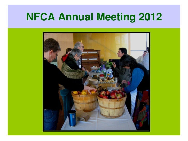 NFCA Annual Meeting 2012