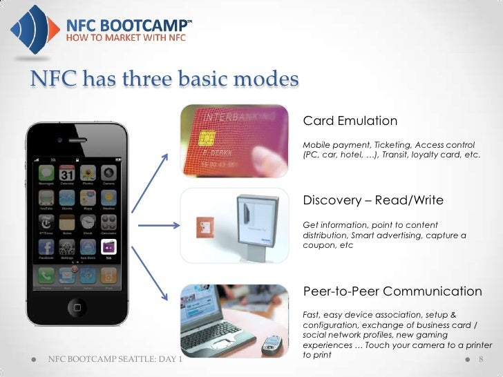 NFC Bootcamp Seattle Day 1