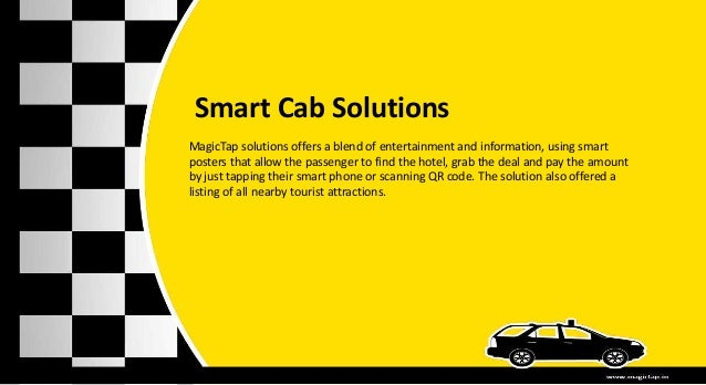 Nfc solutions for Cab,Taxi and other Public Transport
