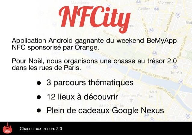 NFCity : chasse au trésor 2.0 (par Youri Jedlinski)