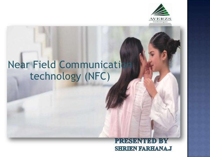 Near Field Communication    technology (NFC)