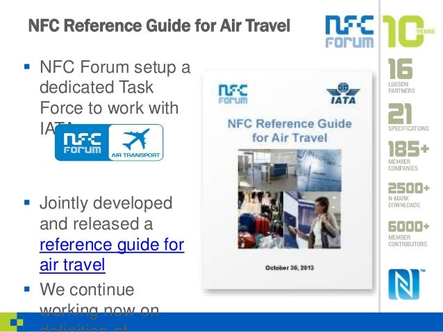 Nfc Reference Guide For Air Travel