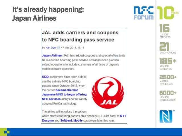 Nfc For Air Travel