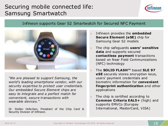 NFC Technology for Smart Wearables