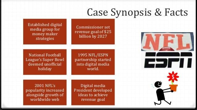 Case Synopsis & Facts Established digital media group for money maker strategies Commissioner set revenue goal of $25 bill...