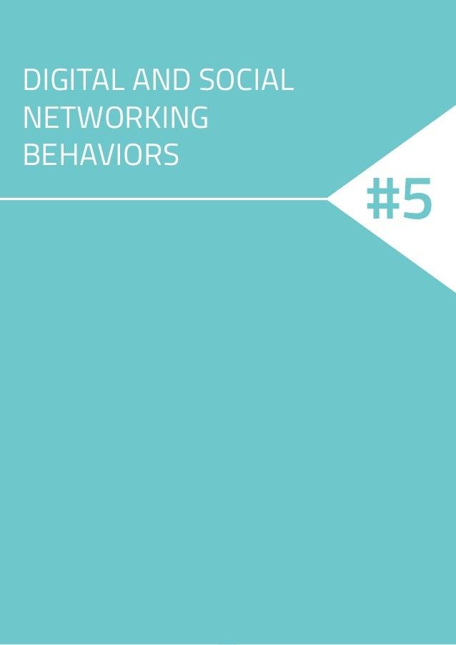 14 DIGITAL AND SOCIAL NETWORKING BEHAVIORS #5