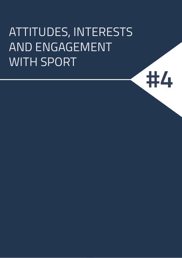 10 ATTITUDES, INTERESTS AND ENGAGEMENT WITH SPORT #4