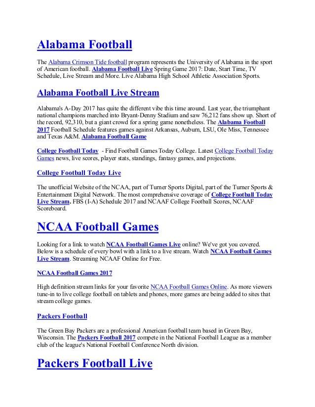Nfl Football Games Live