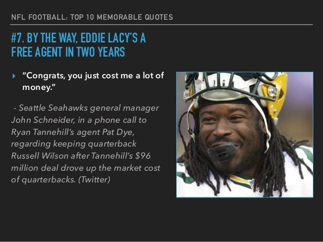 Best Football Quotes: NFL's Top 10 Memorable Quotes From Players And Coaches