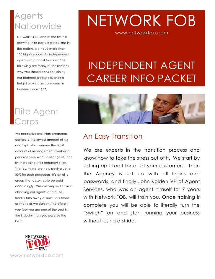 Agents Nationwide                                 NETWORK FOB                                                         www....