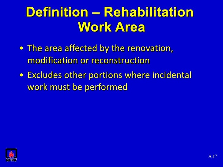 nfpa101 building rehab orlando2010