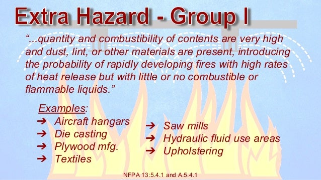 Basic Guide to NFPA 13 Occupancy and Commodity Classifications