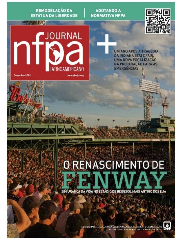 NFPA Journal latinoAmericano -  Dezembro 2012.