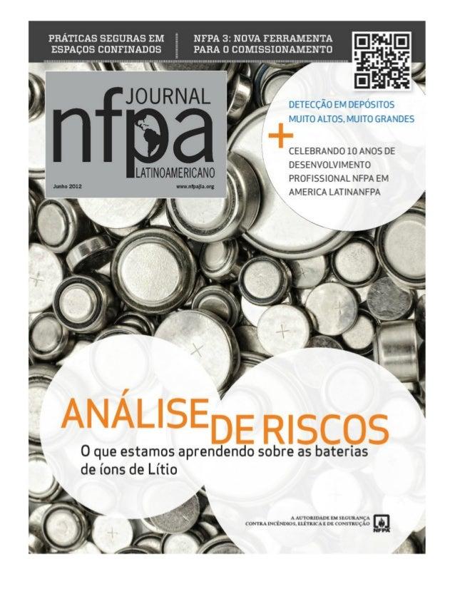 Nfpa journal latino americano   junho 2012