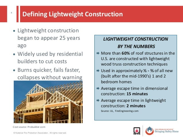 what is lightweight construction