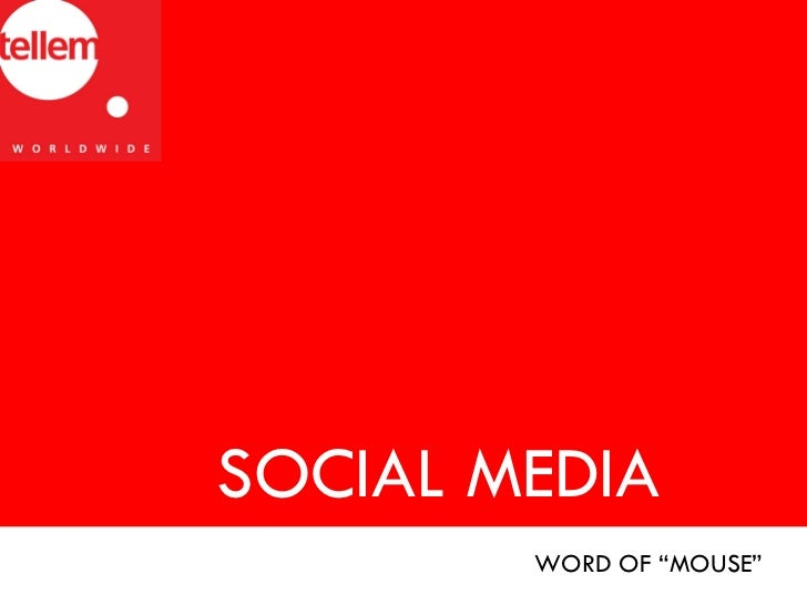 """SOCIAL MEDIA WORD OF """"MOUSE"""""""