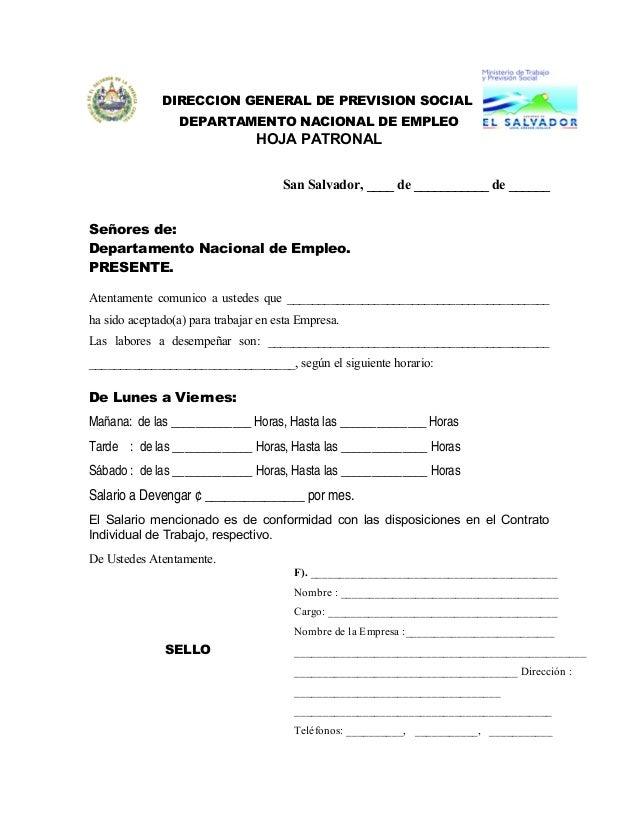 Formato de permiso definitivo de trabajo for Oficina de empleo telefono informacion