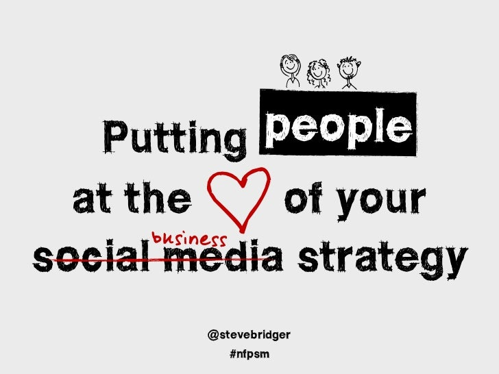 NHI           people        D   Putting people  at the the of your      b u s in e s ssocial media strategy        @steveb...