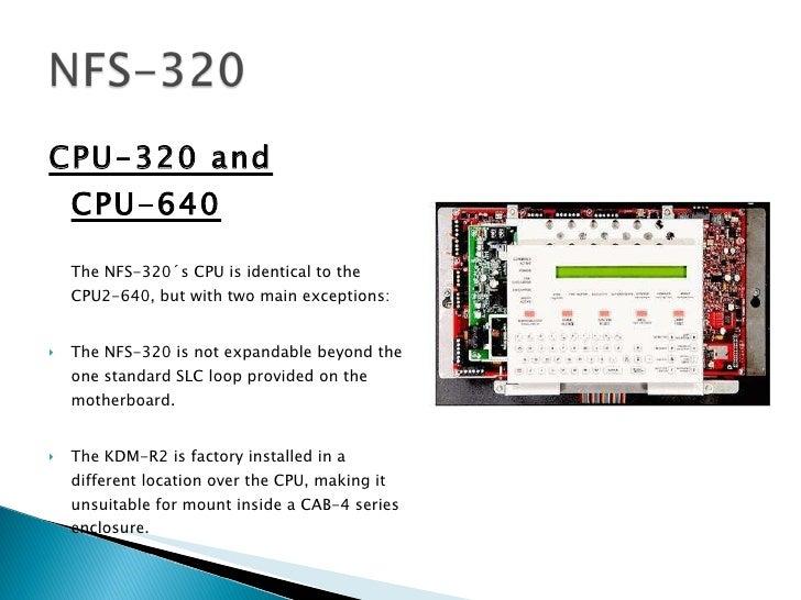 Nfs 320 Programming Manual