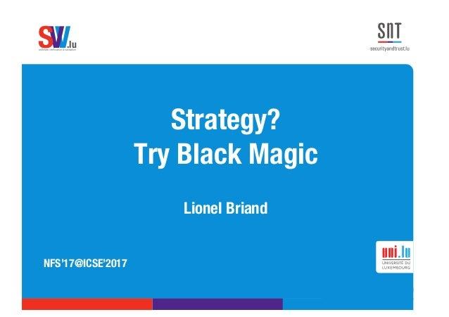 black magic research