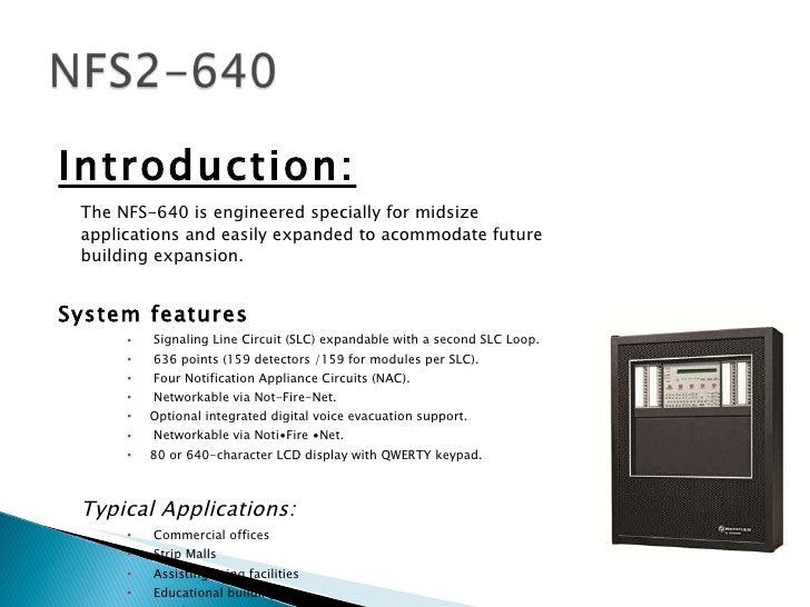 Notifier Nfs 640 Wiring Diagram. . Wiring Diagram on