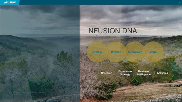 © NFUSION GROUP, LLC. PROPRIETARY AND  CONFIDENTIAL.  6  NFUSION DNA  Strategy Creative Technology Media  Experience  Stra...
