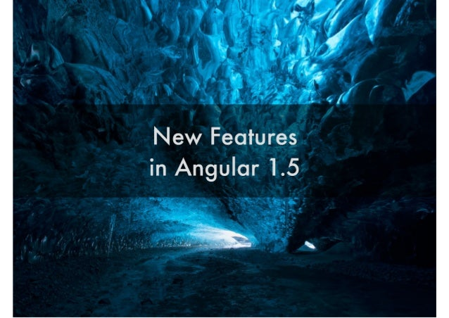 New Features' 'T in Angular l.5>