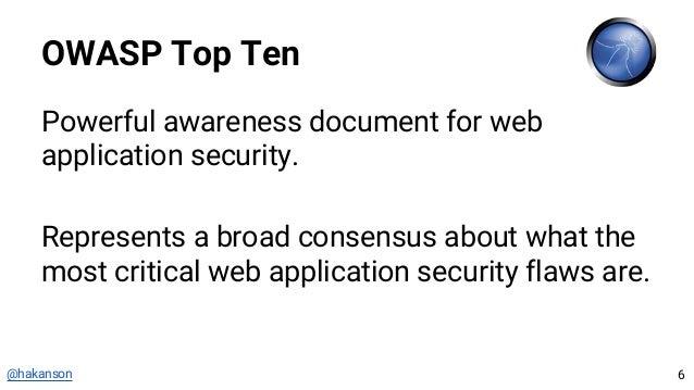ng-owasp: OWASP Top 10 for AngularJS Applications