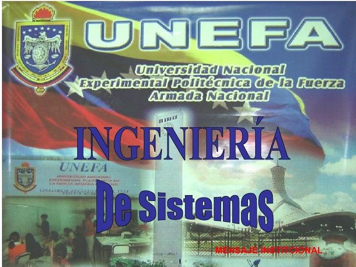 Resultado de imagen para COORDINACION DE SISTEMAS UNEFA LARA