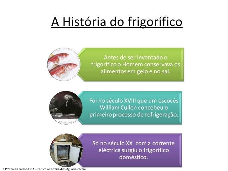 A História do frigorífico F.Prazeres-J.Fresco-E.F.A –S3-Escola Ferreira dias-Agualva-cacem