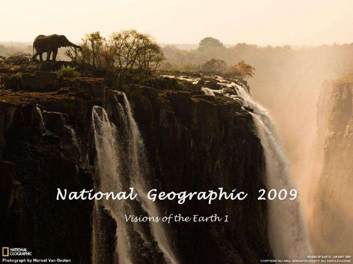 National  Geographic  2009 Visions of the Earth  1