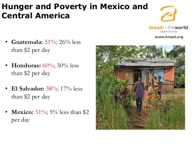 the cause of poverty in mexico Poverty in mexico in three phases being carried out by the world bank at the   and independent mexican specialists working on issues related to rural poverty,.