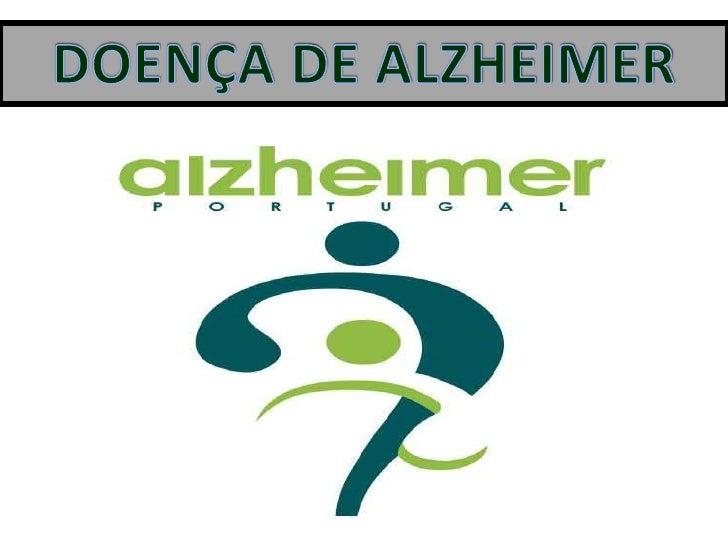 DOENÇA DE ALZHEIMER<br />