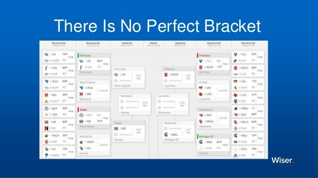 There Is No Perfect Bracket