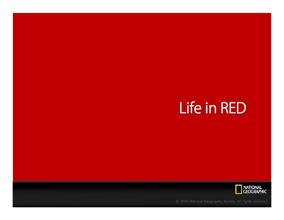Life in Red - NGC