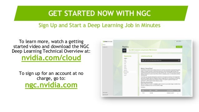 NVIDIA GPU CLOUD - Deep Learning Everywhere