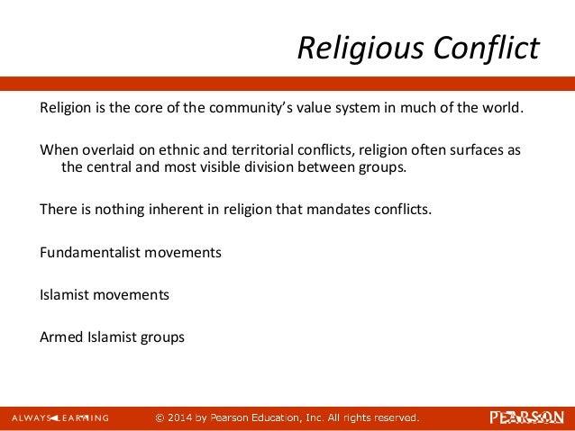 Ethnic Religious Conflict