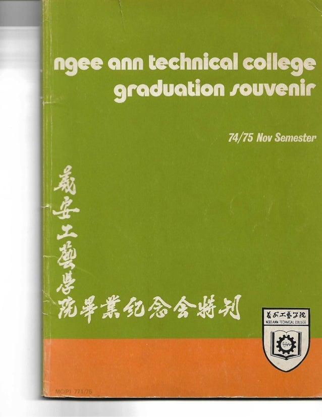 Ngee ann technical college graduation souvenir 7475 nov semester