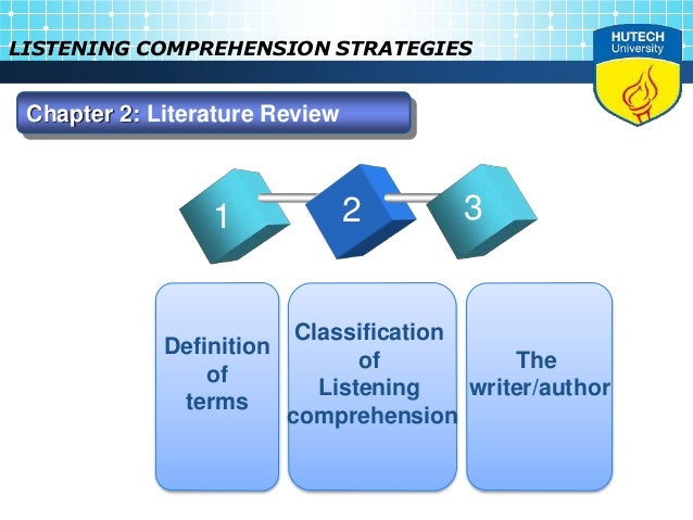 listening comprehension essay Free essay on effective listening available totally free at echeatcom, the largest free essay community.